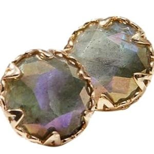 Loft Faceted Stone Studs